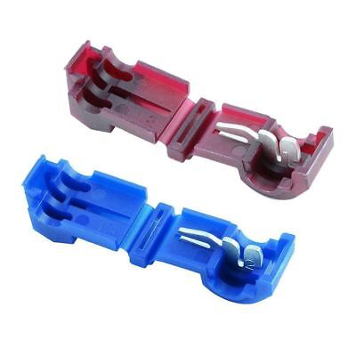 Blue Red Blade T Splice Connector Wire Tap