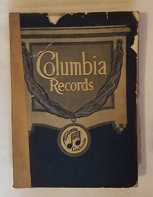 Columbia Records 1917: complete catalog of Columbia Records Sept 1917