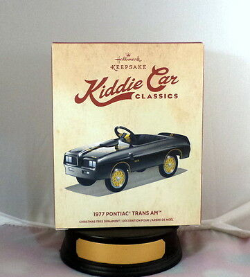 Hallmark 1977 PONTIAC TRANS AM~Miniature Pedal Car~Kiddie Car Classics~