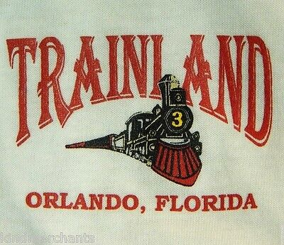 Train Land Shirt Model Railroad Attraction Polo L