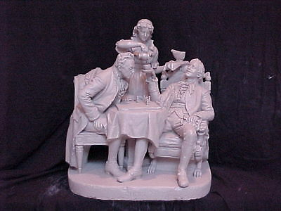John Rogers Group of Statuary 'CHESS '