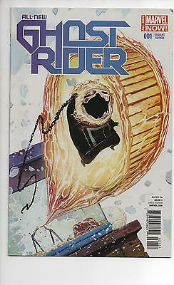 All-New Ghost Rider #1 Nm/nm+ 1St App Robbie Rayes Del Mundo Animal Variant