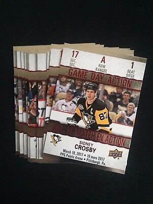 2017-18 Tim Hortons Hockey Cards Game Day Action You Pick From List Mcdavid