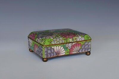 An Antique Chinese Gilt Decorated Cloissone Box