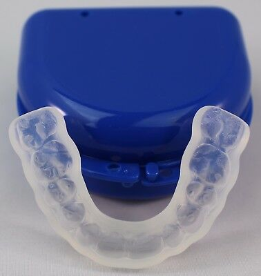 TUFF BRUX Bruxism Extra Thick Soft Custom Made Teeth Grinding Guard - BPA Free