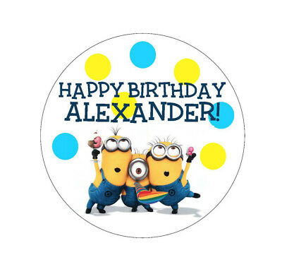 Personalized Despicable Me Birthday Invitation Thank You Card Diy