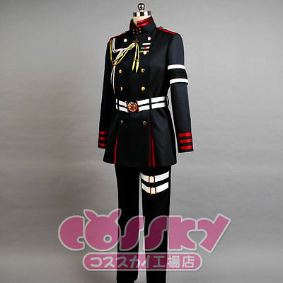 Seraph of the end Guren Ichinose Cosplay Kostüm costume uniform Damen S (EU XS)