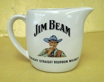"""EARLY SMALL JIM BEAM WATER JUG """"COWBOY"""" DESIGN EXCELLENT CONDITION RARE 1970s"""