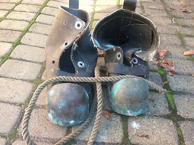 Soviet Russian NAVY diving boots. Used. Diving helmet