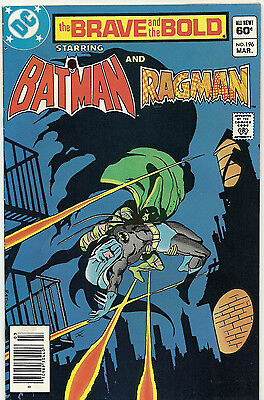 Brave and the Bold #196 (1955 Series) ** BATMAN and RAGMAN **
