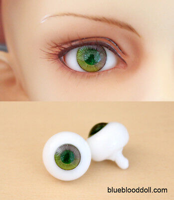 12mm bjd glass doll eyes two shades colors dollfie iplehouse luts #CH-02 ship US