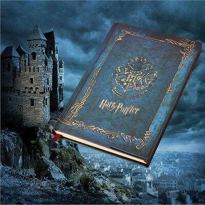 Vintage Harry Potter Retro Diary Travel Notebook Paper Journal Antique-look