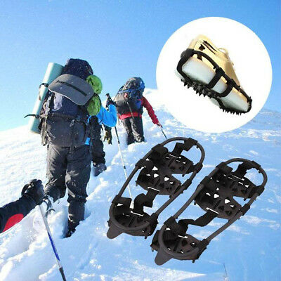 Snow 24 Tooth Cleats Anti-Slip Overshoes Ice Traction Shoe Covers Spike Exotic