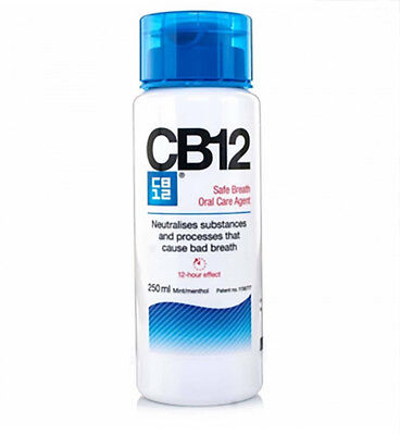 1 x Colutorio CB12 de 250 ml enjuague bucal mal aliento salud dental cuidado