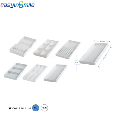 1PC EASYINSMILE 6 Styles Available Dental Cabinet Tray For Instrument Autoclave