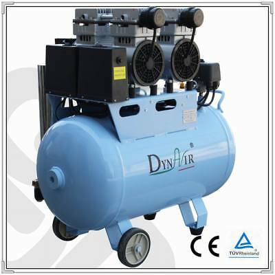 DynAir Dental  Air Compressor Oil Free Piston With Air Dryer DA7002D FDA CE Wd