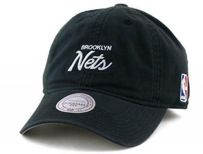 Brooklyn Nets Cap - Mitchell & Ness NBA Hat - Mitchell And Ness In Black