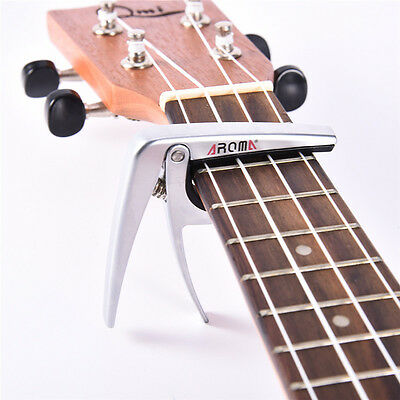 Aroma Guitar Capo Clamp for Electric&Acoustic Tuba Ukulele Quick Trigger Release