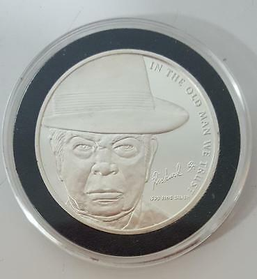 Coin famous OLD MAN GOLD AND SILVER PAWN STARS SHOP program TV - 1oz  999 fine