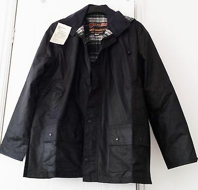 NEW Riding Country wax jacket cotton English weather proof unpadded