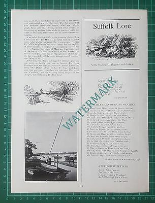 (2371) Pin Mill Suffolk - 1973 Article