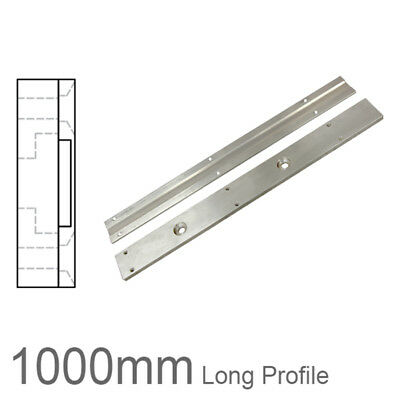 Two Part Magnetic Linear Encoder Tape Support Profile - 1000mm Length