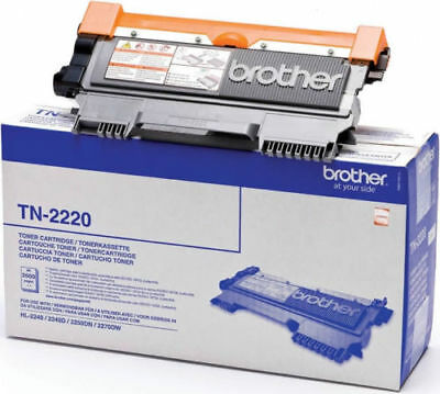 Brother TN2220 toner original neuf - DCP HL MFC