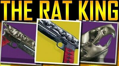 Destiny 2 NF and Rat king done right away PS4 and Xbox 1 read description