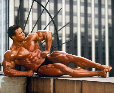 """217 GYM - Kevin Lecrone Body Building Muscle Exercise Work Out 17""""x14"""" Poster"""