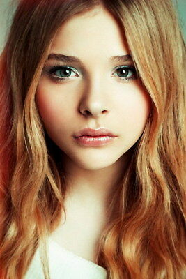 "100 Chloe Moretz - Hit Girl Beauty Hot Movie Actress Star 14""x21"" Poster"