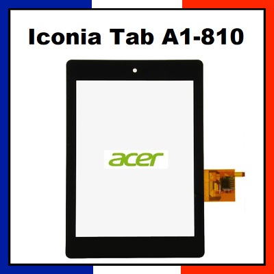 """Vitre Tactile Acer Iconia Tab A1-810 7.9"""" 54.20026.017"""