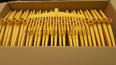 1 BX OF 30 STRONG FLEXIBLE PLASTIC RAKE HEADS 38 cm - GARDENING RAKEHEADS