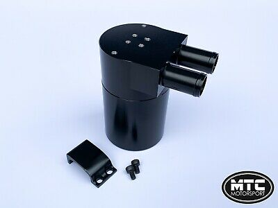 Mtc Motorsport Oil Catch Can Tank Billet Steel Reservoir Universal Astra Vxr Gsi