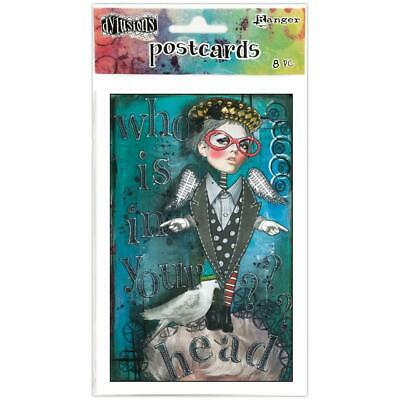 Dylusions by Dyan Reaveley - Postcards - Set 1 - 8 Cards