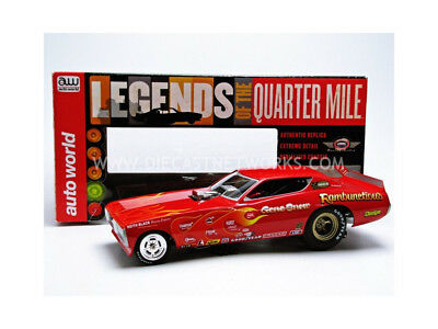Auto World - 1/18 - Dodge Charger Funny Car - Rambunctious 1971 - Aw1118