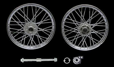 Honda CG125, 04-08 FRont wheel, Disc brake, Rim 1.40 x 18, Complete wheel