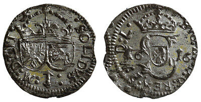 Lithuania, 1 Schilling 1616