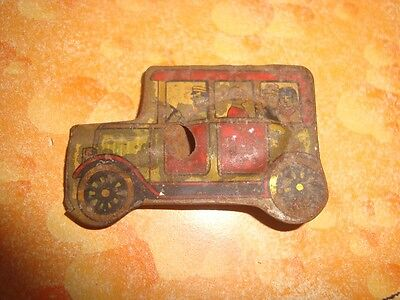 Old Vintage Tin Car Shape Whistle Toy from Japan 1930