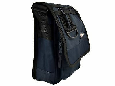 Hi-Tec Small Mens Ladies Utility Cross Body Messenger Shoulder Travel Bag Navy