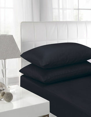 Quality Fitted Sheet in Poly Cotton Single, Double, King, Super King