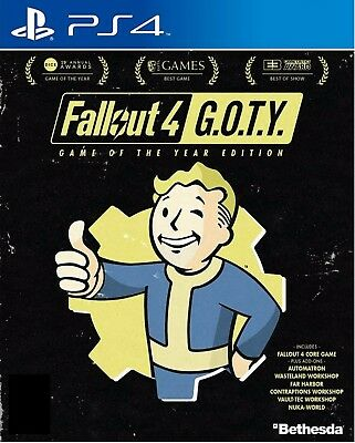 Fallout 4 Game of the Year Edition HK Chinese/English subtitle PS4 NEW