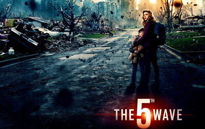 "010 The 5th Wave - Chloe Grace Moretz 2016 Science Fiction Movie 38""x24"" Poster"