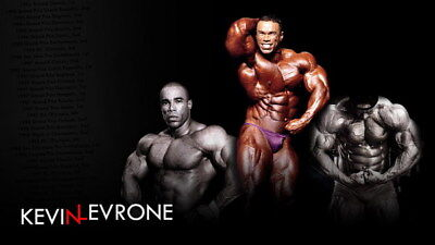 """218 GYM - Kevin Lecrone Body Building Muscle Exercise Work Out 42""""x24"""" Poster"""
