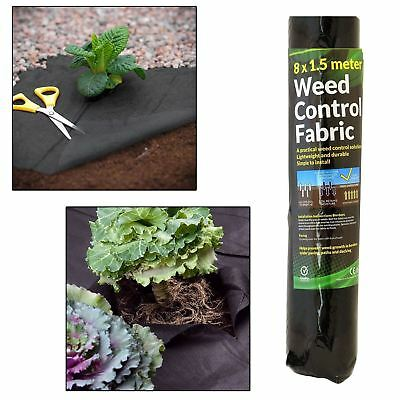 Unibos Weed Control Ground Cover Fabric Landscape Membrane Heavy Duty
