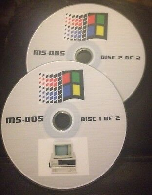 MSDos Computer Emulator For Windows PC's With Over 2,500 Public Domain Games