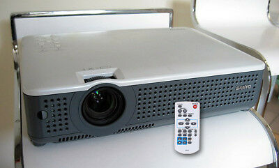 SANYO Ultra Portable XGA LAN PC DVD Movie Video Multimedia Projector PLC-XU75