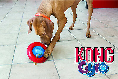 KONG Gyro - Interactive Treat Dispensing Roll & Flip Dog/Puppy Toy