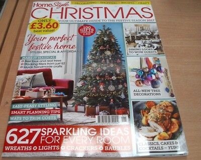 Home Style magazine Christmas 2017 Stylish Special & affordable Festive home