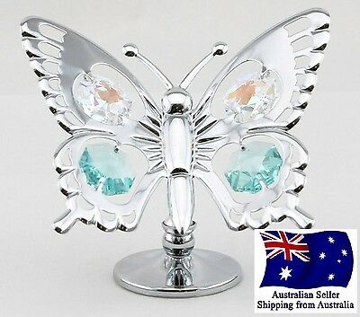 CRYSTOCRAFT Butterfly with SWAROVSKI Crystals