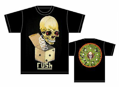 Rush: Jack In The Box T-Shirt  New  Official Free Shipping